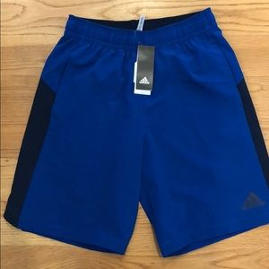 Adidas workout shorts size M